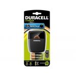 Cargador Duracell para pilas recargables cef 27 incluye 4 pilas 2 aa y 2aaa
