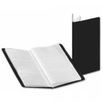 Carpeta Beautone clasificador de tarjetas polipropileno color negro para 72 tarjetas 6 a la vista