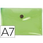Liderpapel DS41 - Dossier con broche, A7, 180 micras, capacidad para 50 hojas, color verde frosty