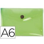 Liderpapel DS36 - Dossier con broche, A6, 180 micras, capacidad para 50 hojas, color verde frosty