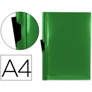 Liderpapel DP02 - Dossier con pinza lateral, A4, capacidad para 30 hojas, color verde