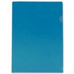 Liderpapel BL09 - Dossier uñero, A4, 180 micras, capacidad para 20 hojas, color azul