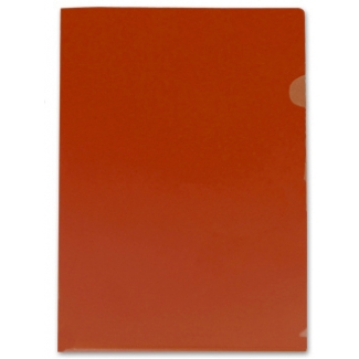 Carpeta Beautone dossier uñero polipropileno tamaño A4 color roja 20 hojas