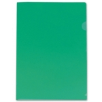 Carpeta Beautone dossier uñero polipropileno tamaño A4 color verde 20 hojas