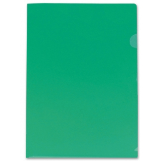 Liderpapel BL10 - Dossier uñero, A4, 180 micras, capacidad para 20 hojas, color verde
