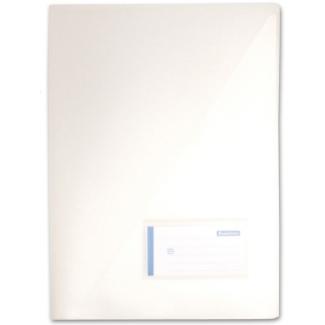 Liderpapel BL16 - Dossier uñero, A4, capacidad para 20 hojas, color transparente