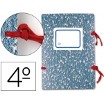 Liderpapel LE02 - Carpeta legajos, cartón, tamaño cuarto