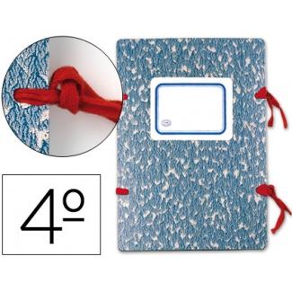 Carpeta Liderpapel legajos cartón tamaño cuarto