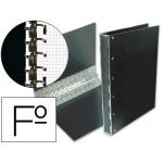 Carpeta Multifin fibra 16 anillas 40 mm tamaño folio