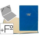 Carpeta clasificador Saro tamaño folio prolongado color azul