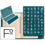 Carpeta clasificadora kukuxumusu pipol cartón forrado 12 separadores tamaño folio