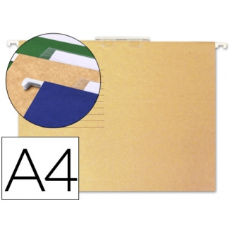 Carpeta colgante Gio tamaño A4 visor superior