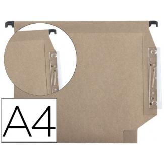 Fade Hamelin 400064812 - Carpeta colgante, tamaño A4, visor lateral, Kraft eco