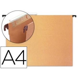 Carpeta colgante Hamelin tamaño A4 visor superior color kraft eco