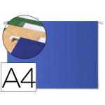Liderpapel SF05 - Carpeta colgante, tamaño A4, visor superior, color azul