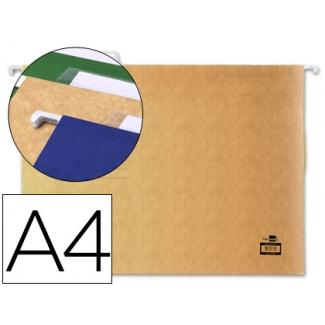 Carpeta colgante Liderpapel tamaño A4 color kraft