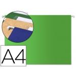Carpeta colgante Liderpapel tamaño A4 color verde