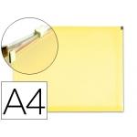 Carpeta dossier Liderpapel tamaño A4 cierre de cremallera amarilla