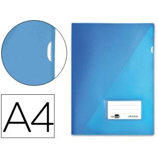 Liderpapel BL02 - Dossier uñero, A4, capacidad para 20 hojas, color azul