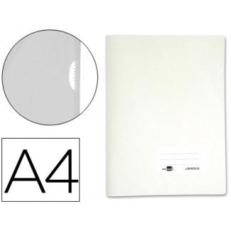 Liderpapel BL03 - Dossier uñero, A4, capacidad para 20 hojas, color blanco