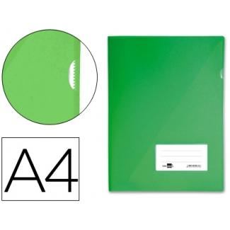 Liderpapel BL06 - Dossier uñero, A4, capacidad para 20 hojas, color verde