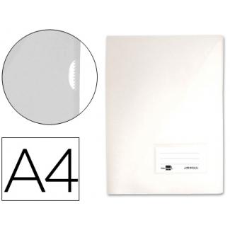 Liderpapel BL05 - Dossier uñero, A4, capacidad para 20 hojas, color transparente