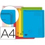 Carpeta dossier cartón uñero Fast-PaperFlow tamaño A4 130 micras colores surtidos