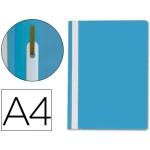 Carpeta dossier fastener plástico Q-connect tamaño A4 color azul