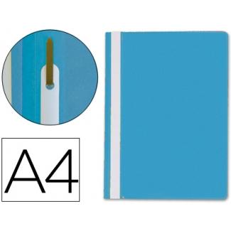 Q-Connect KF01454 - Dossier fástener, A4, capacidad para 30 hojas, color azul