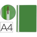 Q-Connect KF01456 - Dossier fástener, A4, capacidad para 30 hojas, color verde