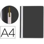 Q-Connect KF01453 - Dossier fástener, A4, capacidad para 30 hojas, color negro