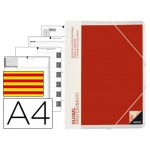 Carpeta global Additio tamaño A4 con evalucion continua programación tutoria y reuniones en catalan