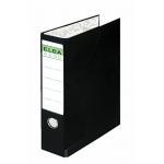 Carpeta papel continuo Elba 4 anillas cartón forrado 32x29 cm lomo de 80 mm