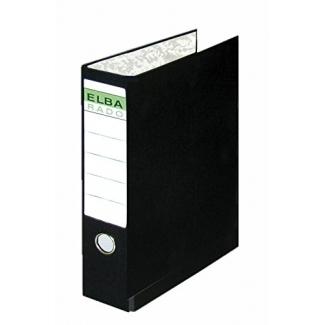 Elba 100580232 - Carpeta para papel continuo, 4 anillas de 55 mm, tamaño 320 x 290 mm