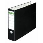 Carpeta papel continuo Elba 4 anillas cartón forrado 32x42 cm lomo de 80 mm