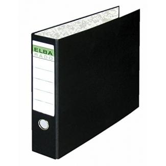 Elba 100580234 - Carpeta para papel continuo, 4 anillas de 55 mm, tamaño 320 x 420 mm