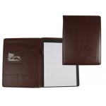 Carpeta portatamano folios 45-728k color marron 320x250 mm sin cremallera sin asa con departmentos interiores