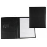 Carpeta portatamano folios 80-728k negra 320x250 mm sin cremallera sin asa con departmentos interiores
