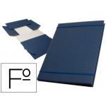 Carpeta proyectos Liderpapel extensible gofrada tamaño folio