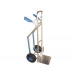 Carretilla portapaquetes con ruedas neumáticas tamaño mm carga de 180 kg