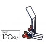 Carretilla portapaquetes salvaescalones con 6 ruedas tamaño mm carga de 120 kg