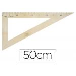 Cartabón para encerado Faibo de plástico imitación madera 50 cm