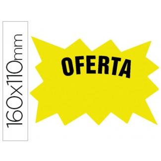 Pregunta sobre Liderpapel M-7º-AM - Cartel marcaprecios, cartulina, amarillo fluorescente, 160 mm x 110 mm, bolsa de 50 unidades