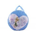 Cartera escolar Anadel fairies color turquesa bolso porta juegos 51x32 cm s