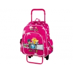 Cartera escolar Copywrite mochila con trolley desmontable power puff girls 42x27x13 cm s