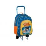Cartera escolar Copywrite sportacus mochila desmontable con trolley 42x32 cm
