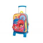 Cartera escolar Jaimarc dora la exploradora mochila con trolley 510x300x220 mm