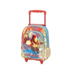 Cartera escolar Jaimarc iron man3 mochila con trolley 460x280x200 mm