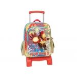 Cartera escolar Jaimarc iron man3 mochila grande con trolley 51x300x220 mm