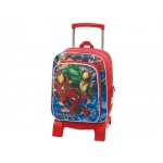 Cartera escolar Jaimarc marvel heroes mochila junior con trolley 400x320x190